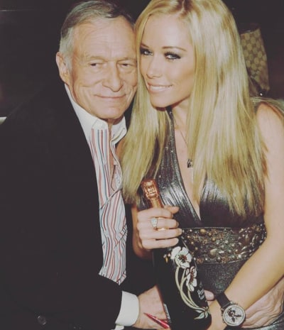 Kendra Wilkinson and Hugh Hefner Together