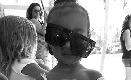 North West Gets Goofy, Looks Wasted on Instagram