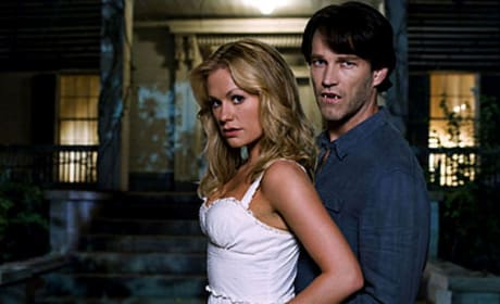 Bill Compton and Sookie Stackhouse