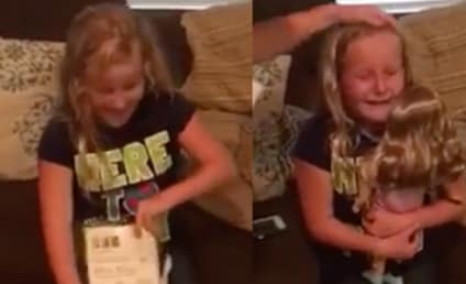 Girl with Prosthetic Leg Bawls Over Perfect Present