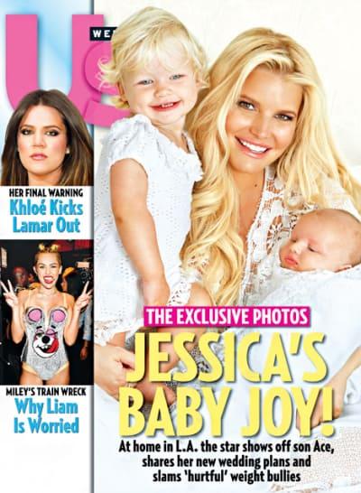 Jessica Simpson, Baby Pictures