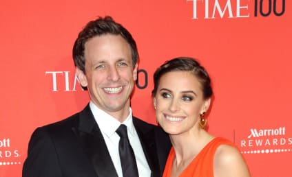 Seth Meyers and Alexi Ashe: Married!