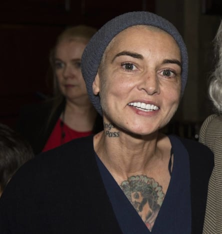 Pic of Sinead O'Connor