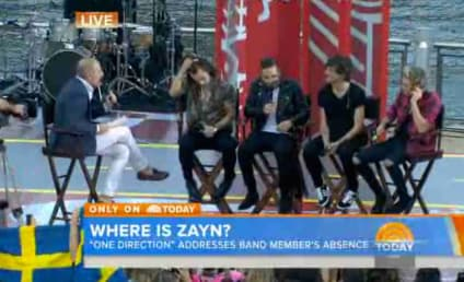 Zayn Malik Misses One Direction Today Show Appearance; Matt Lauer Booed For Inquiry