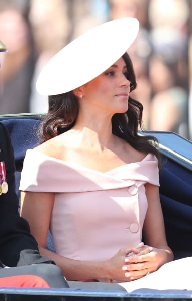 Meghan Markle Trooping the Color