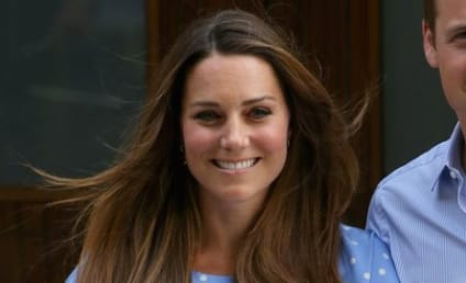 Kate Middleton: Breastfeeding Prince George!