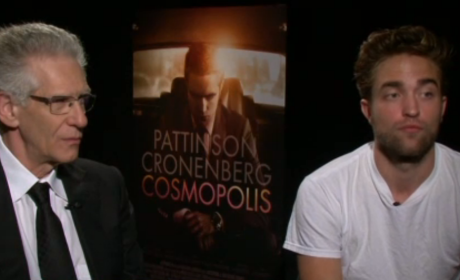 Robert Pattinson HLN Interview