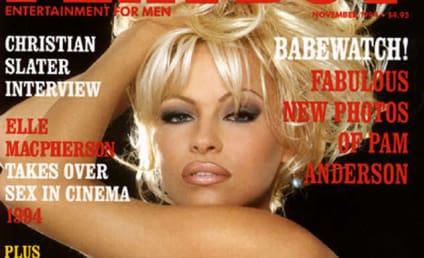 Pamela Anderson Cries Over Hugh Hefner, Bids Poetic Farewell