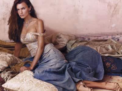 Filippa Hamilton, Ralph Lauren Model