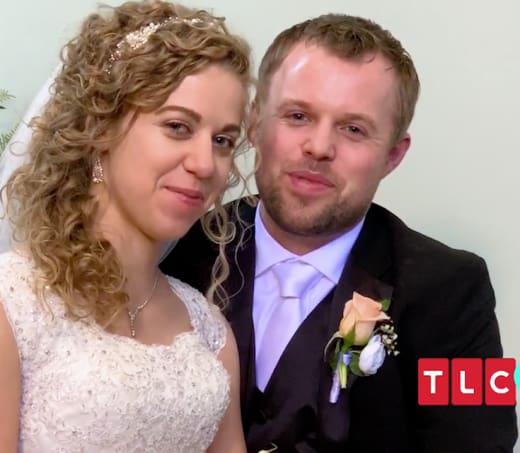 John-David Duggar and Abbie Burnett Wedding Day Pic