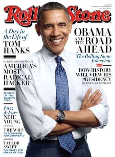 Barack Obama Rolling Stone Cover