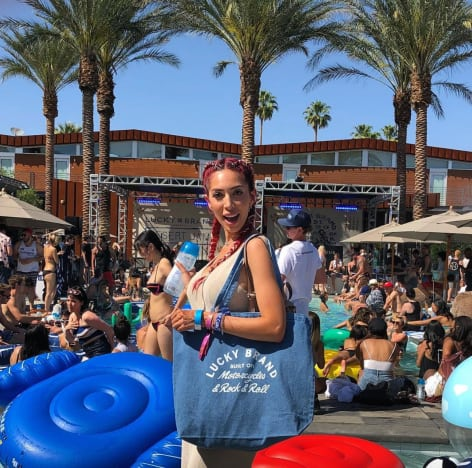 Farrah Abraham at Pool Party