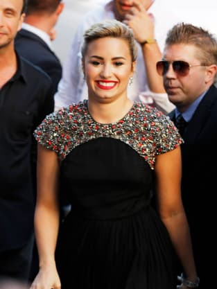 Demi Lovato, All Smiles