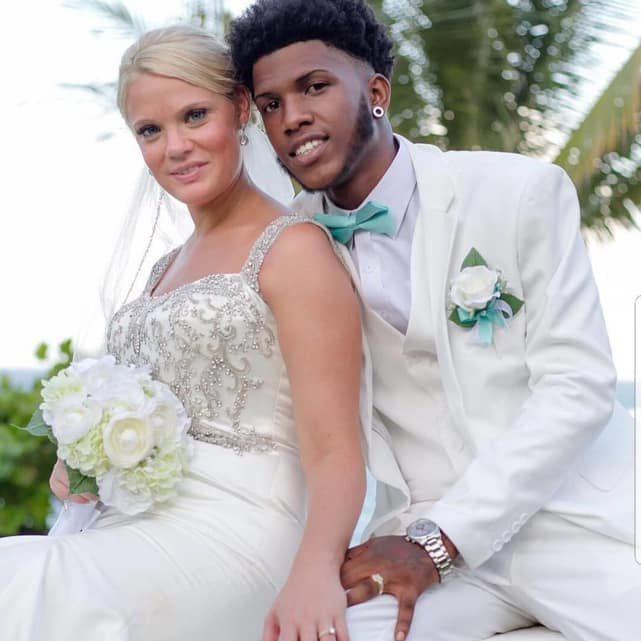 Ashley martson and jay smith wedding photo
