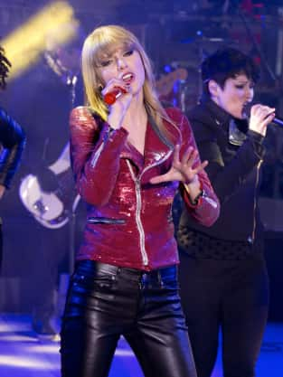 Taylor Swift on New Year's Eve