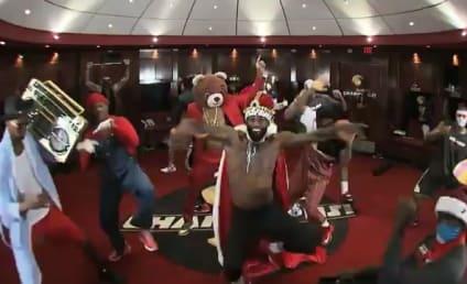 Miami Heat Harlem Shake Video: LeBron James & Teammates Get DOWN!