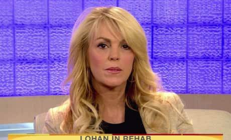 Dina Lohan on Today