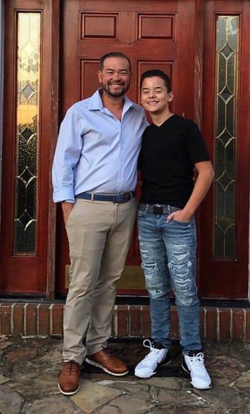 Jon Gosselin and Son Collin