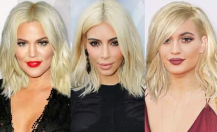 Kylie, Kim and Kompany: See Their Kraziest Hairstyles!