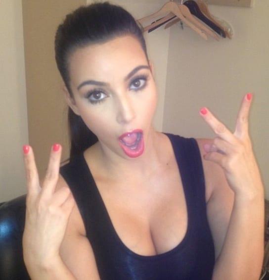 Kim Kardashian Boobs Pic