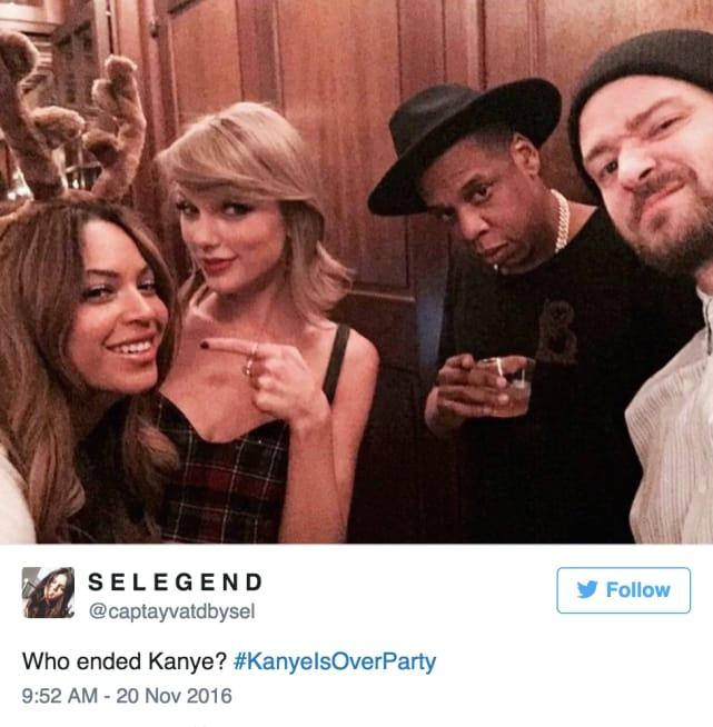 Who Ended Kanye?