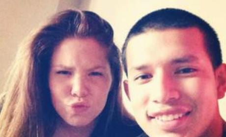 Kailyn and Javi Selfie