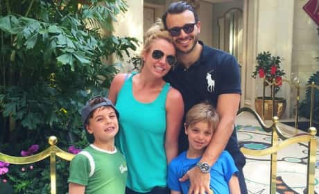 Charlie Ebersol, Britney Spears and Sons