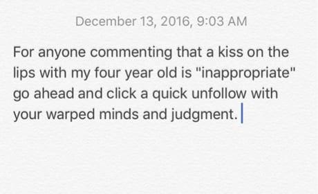 Hilary Duff Instagram Statement