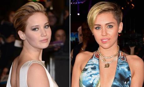 Jennifer Lawrence on Miley Cyrus