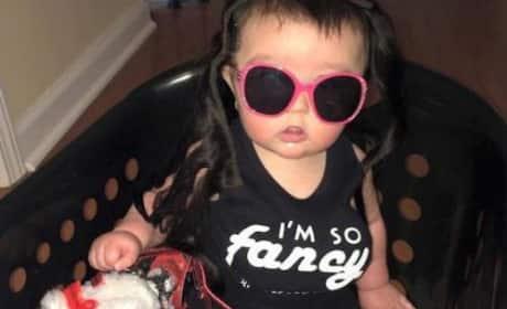 JWoww Baby Fake Boobs Photo
