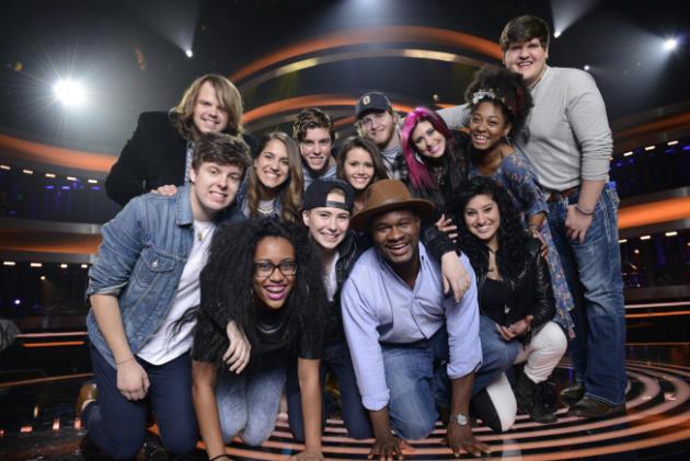 The American Idol Top 13