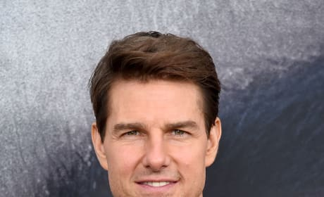 Tom Cruise at Mummy Premiere