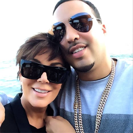 French Montana and Kris Jenner