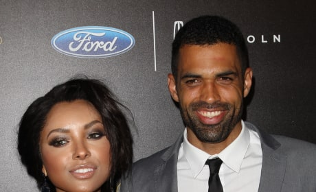 Kat Graham and Cottrell Guidry