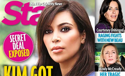 "Kim Kardashian ""Used Kanye for Sperm,"" Tabloid Claims"