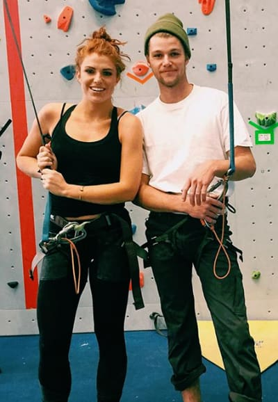 Jeremy Roloff and Audrey Roloff, Climbing Date