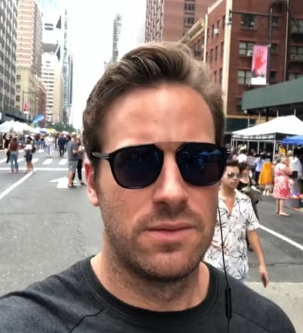 Armie Hammer Out and About