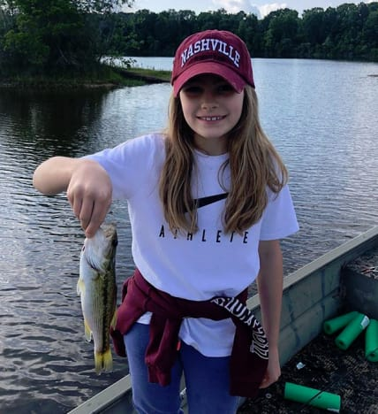 Maddie Aldridge, Fishing Champ