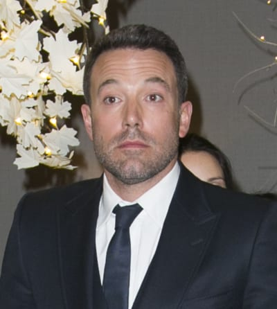 Ben Affleck Looks Scared