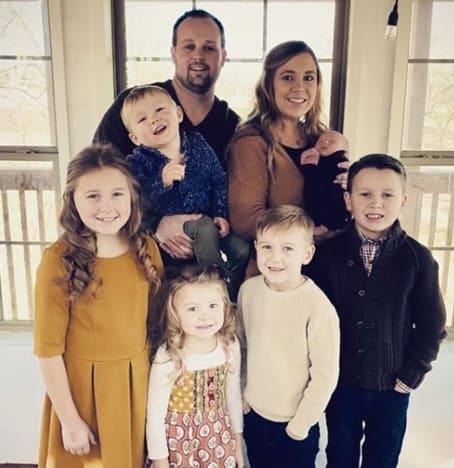 Anna Dagger and 6 children