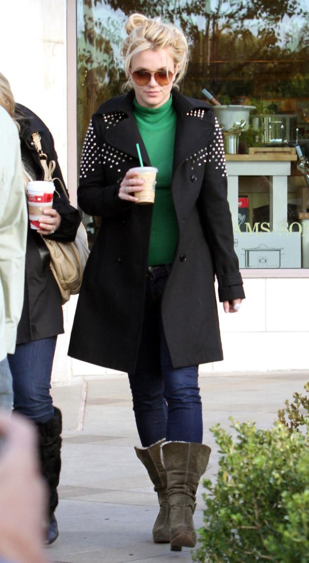 Britney in a Trench Coat