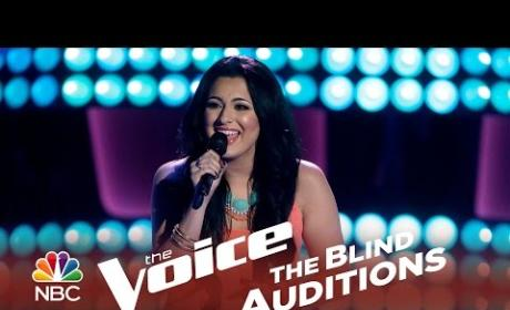 Mayra Alvarez - Human Nature (The Voice Audition)