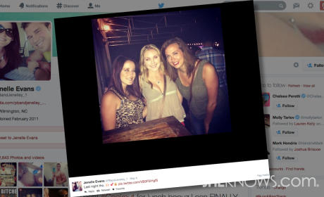 Jenelle Evans Partying and Pregnant