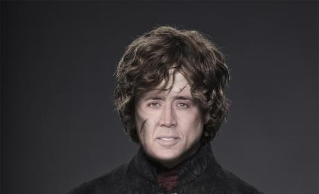 Nicolas Cage as Tyrion Lannister
