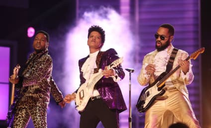 Bruno Mars Pays Tribute to Prince: Ready to Go Crazy?
