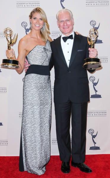 Heidi Klum and Tim Gunn Photo