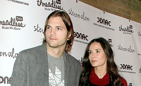 Ashton Kutcher and Demi Moore - 15 Years