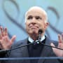 John McCain at the Mic