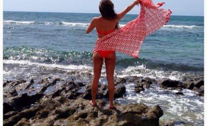 Lea Michele Butt Selfie: Hot in Hawaii!