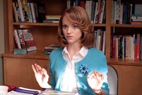 Jayma Mays on Glee